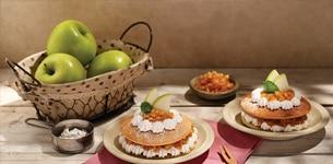 Pancake nhân táo