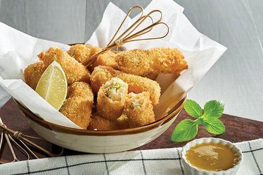 Bánh cá khoai tây