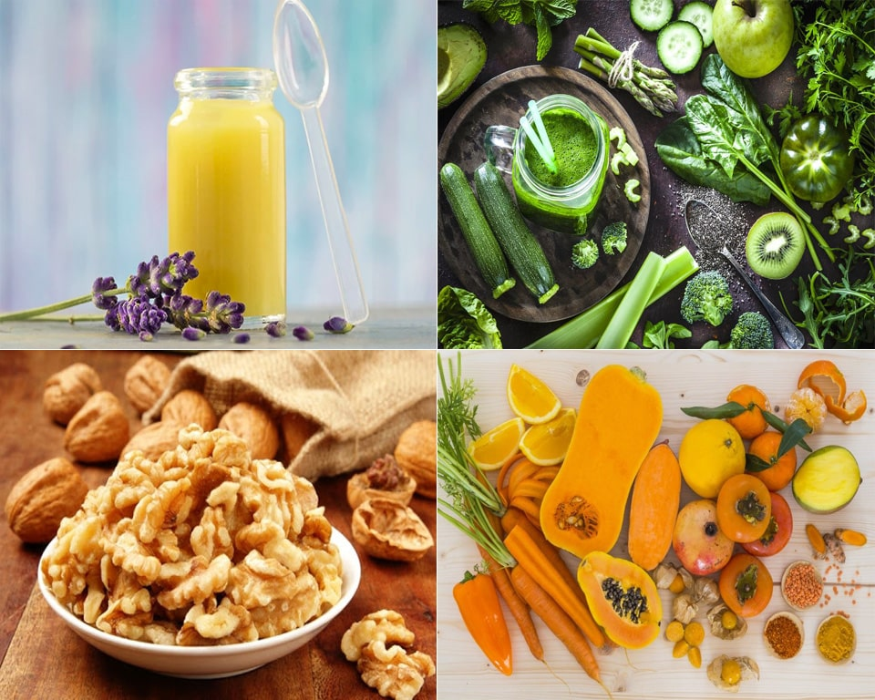 Dinh dưỡng phù hợp giúp Mẹ chăm sóc cho từng loại da