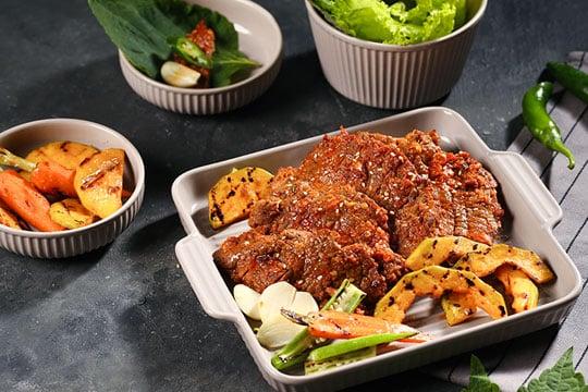 Thịt bò nướng mẻ kiểu Hàn Quốc